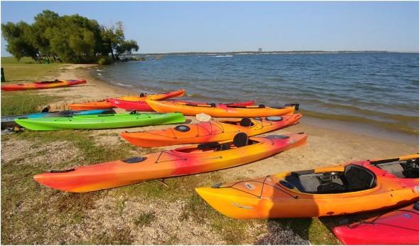 Pstarr.KayakingonLakeGrapevineCollage
